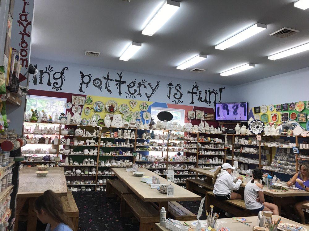 Meg-Art Pottery Painting Studio & Espresso Bar
