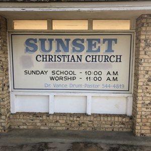 Sunset Christian Church: 1813 FM 227 E, Grapeland, TX
