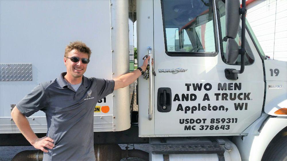 Two Men and a Truck Appleton: N941 Craftsmen Dr, Greenville, WI