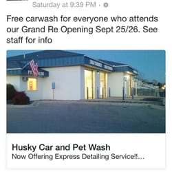 husky car pet wash 14 photos car wash 195 landmark dr ne owatonna mn phone number yelp. Black Bedroom Furniture Sets. Home Design Ideas