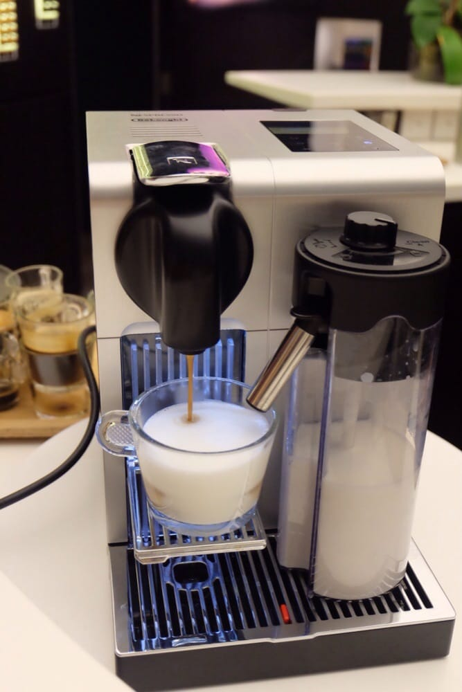 Lattissima Pro, a new Nespresso machine for making milk coffee ...
