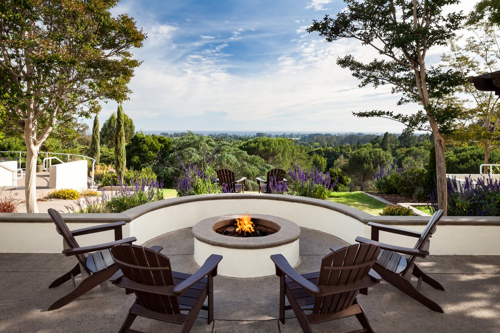Photo Of Chaminade   Santa Cruz, CA, United States. Fireside Patio With  Expansive