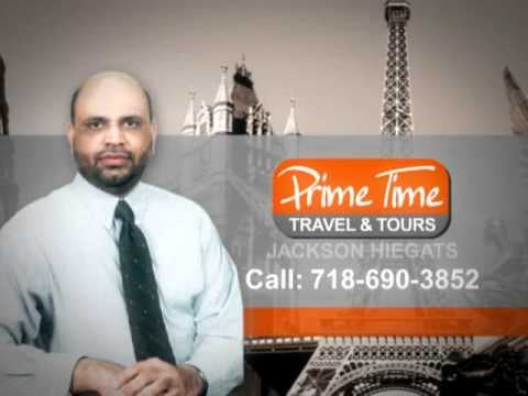 Prime Time Travel & Tours: 3707 74th St, Queens, NY