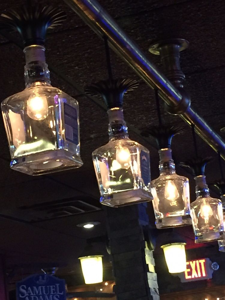 Ditto on the jack daniels bottle lights! - Yelp