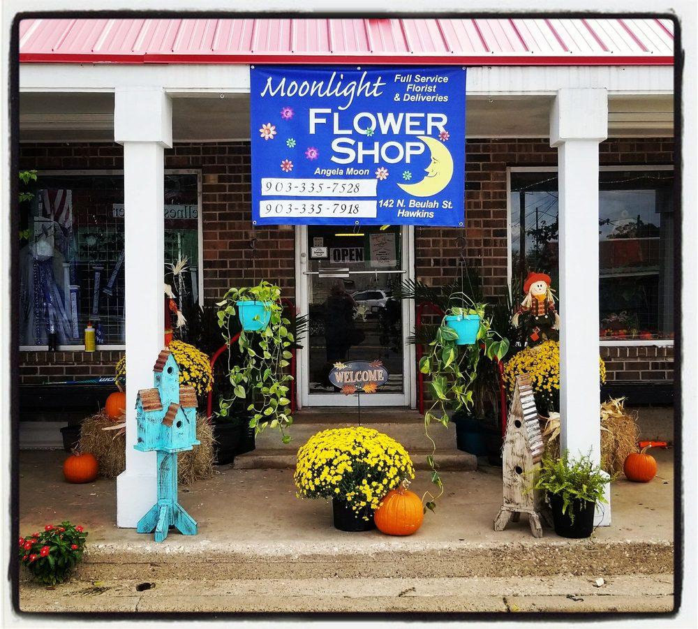 Moonlight Flower Shop: 142 N Beaulah St, Hawkins, TX