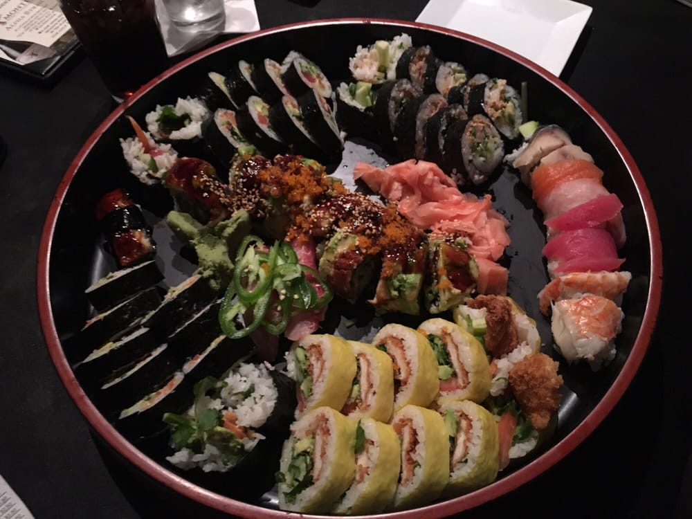 Marc s fusion cafe 37 photos 74 reviews japanese for Fish fry rockford il