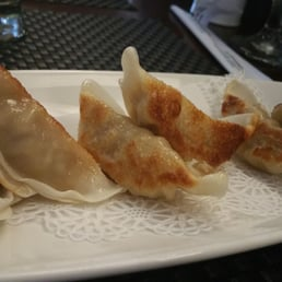 Kumo Sushi, Hibachi, and Lounge - New City, NY, United States. Gyoza...I highly recommend this:)