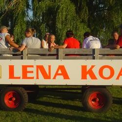 Koa Illinois Map.Lena Koa 24 Photos Campgrounds 10982 Us Hwy 20 W Lena Il