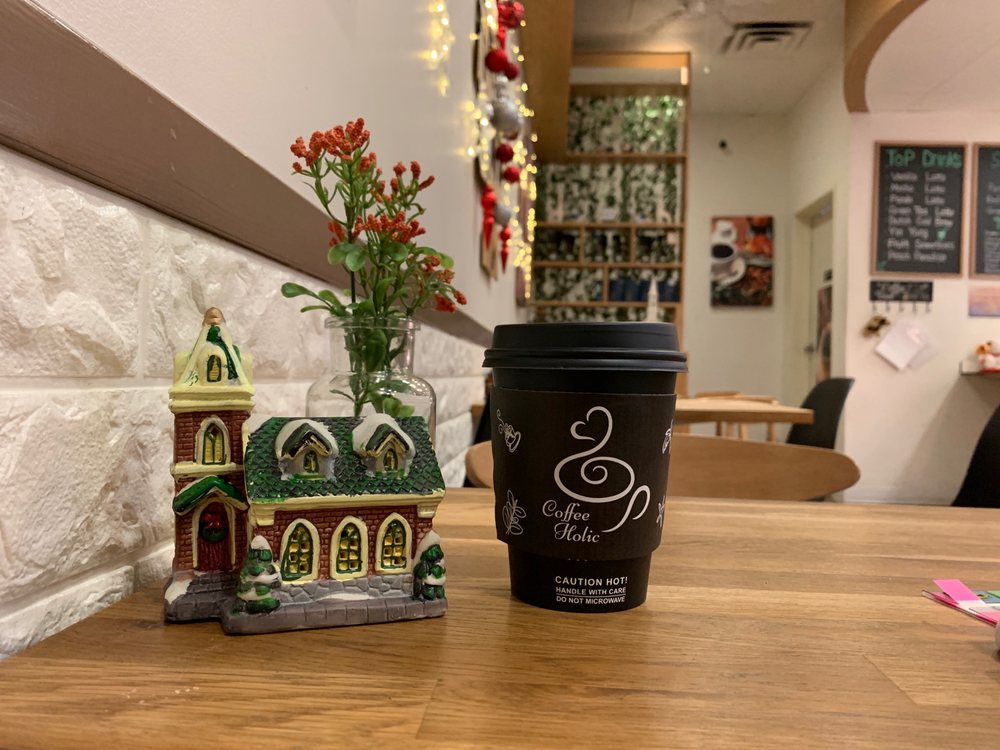 Coffeeholic: 1240 Lakes Dr, West Covina, CA