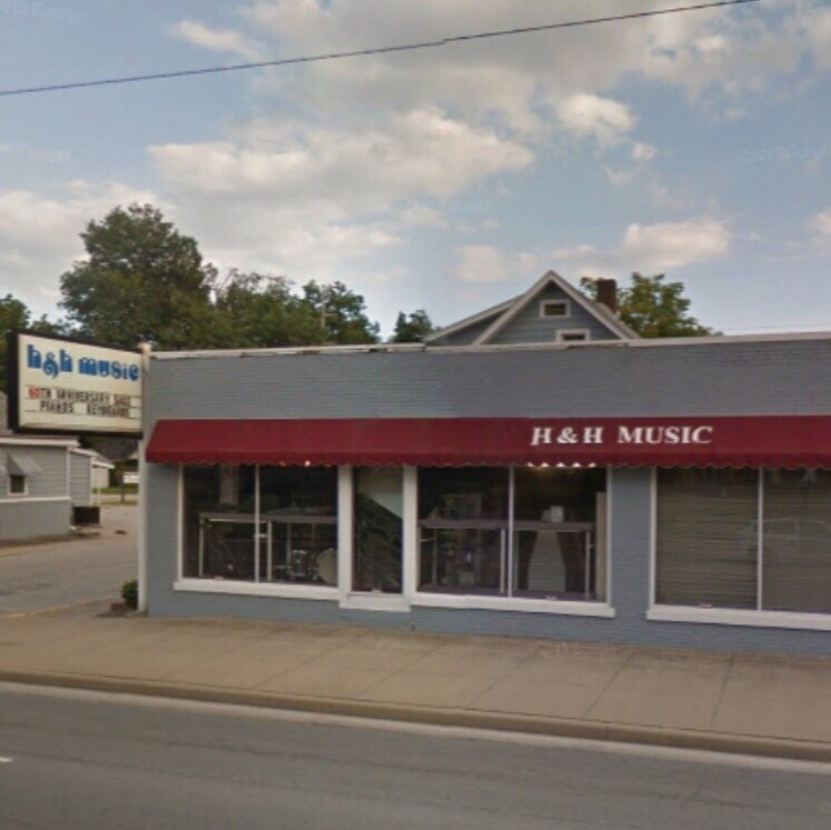 H & H Music Service: 1313 Washington Ave, Evansville, IN