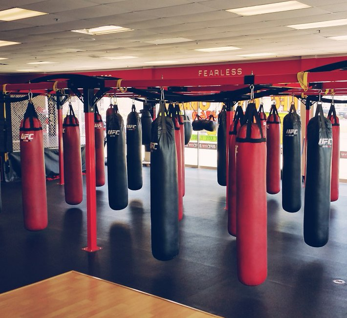 Bad ass boxing gym and broomall confirm. was