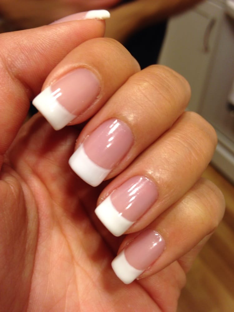 Photo Of Luxury Nails Fountain Valley Ca United States French Tip Gel