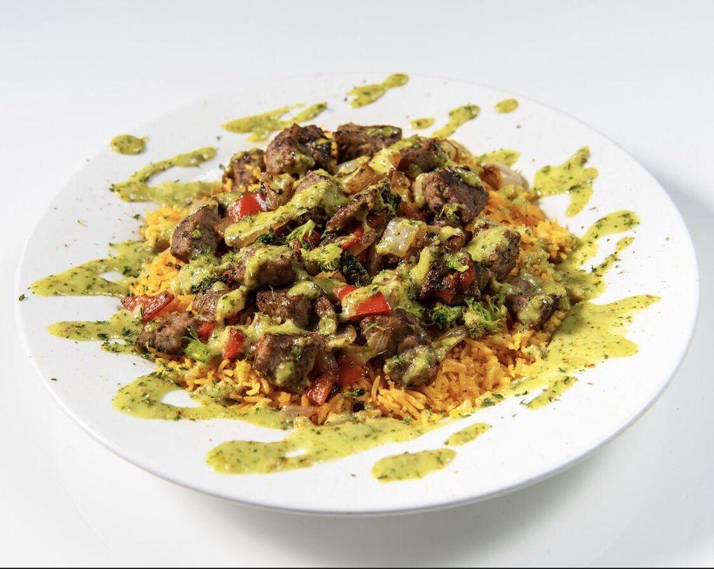 Akhibachis halal food: 5409 N Dupont Hwy, Dover, DE