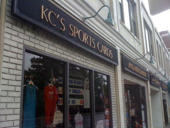 KC's Sportscards And Memorabilia: 33 Temple St, Quincy, MA