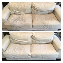 Photo Of Drake Auto Reconditioning Athens Ga United States Leather Sofa Cleaned