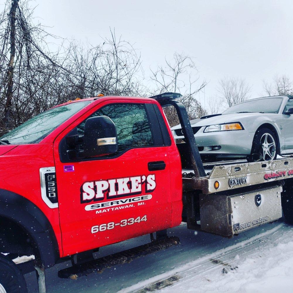 Spike's Service: 57519 S Main St, Mattawan, MI