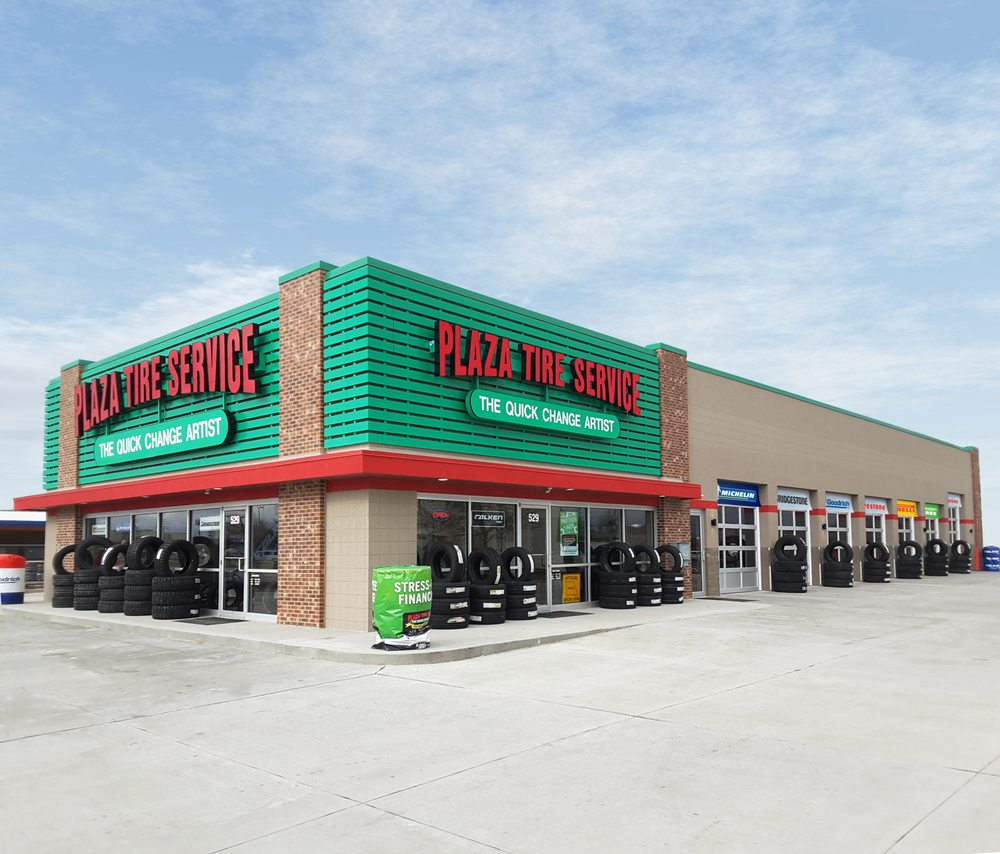 Plaza Tire Service: 529 E Hwy 24, Moberly, MO