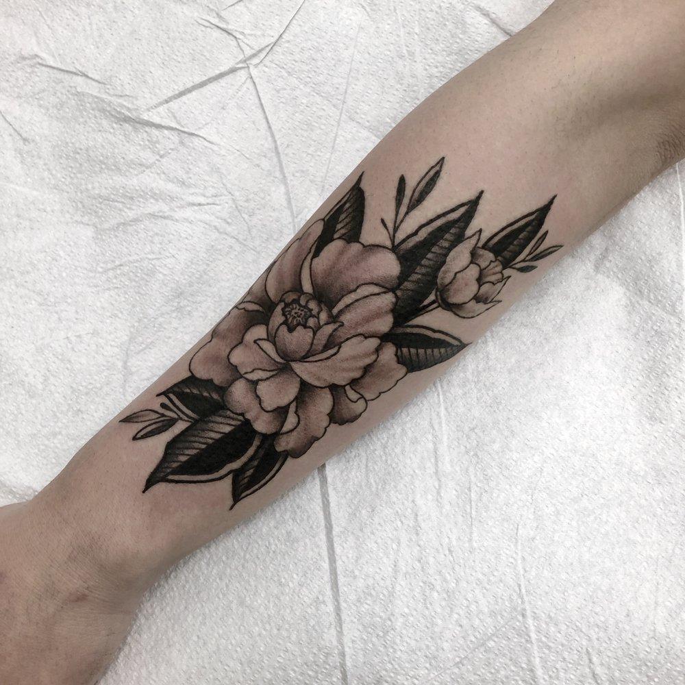 Two Cranes Tattoo: 825 Sacramento St, San Francisco, CA