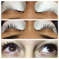 af7705f03bb Photo of Vanity Lash Studio - Washington, DC, United States. Before-durning.  Before-durning-after lash extensions