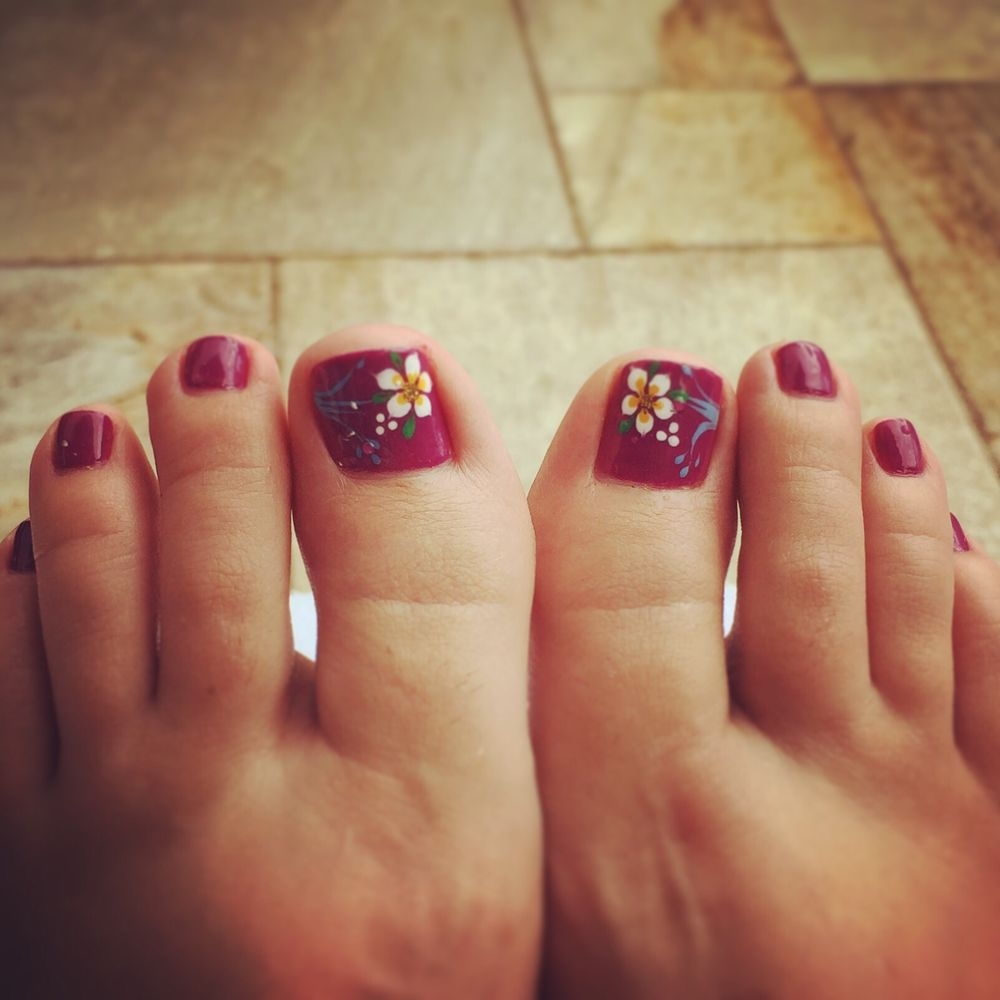 Ashley did a great job on my toes! - Yelp