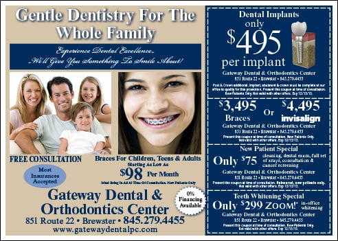 Gateway Dental: 851 Rt 22, Brewster, NY