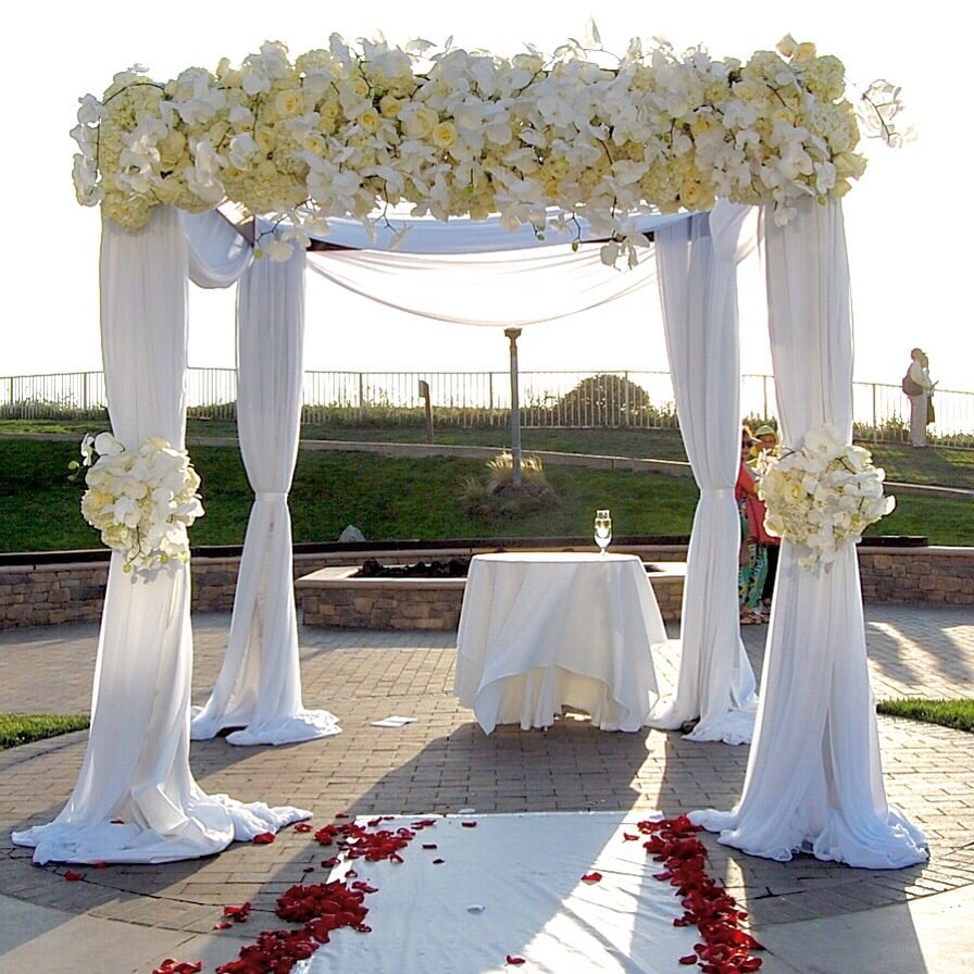 Jewish Wedding Altar Name: Wedding Chuppah For A Jewish Wedding Ceremony @ The Ritz