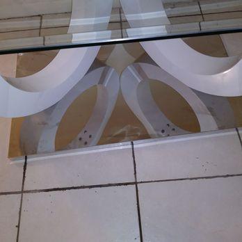 Photo Of Coco Furniture Gallery   Miami, FL, United States. Defective Glass  Top