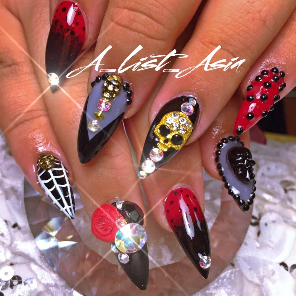 Nails by asia a list asia 973 707 2352 yelp for A list nail salon
