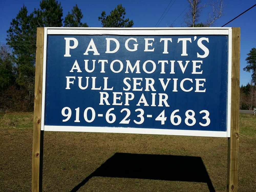 Padgett's Automotive: 11509 US Hwy 117 S, Rocky Point, NC