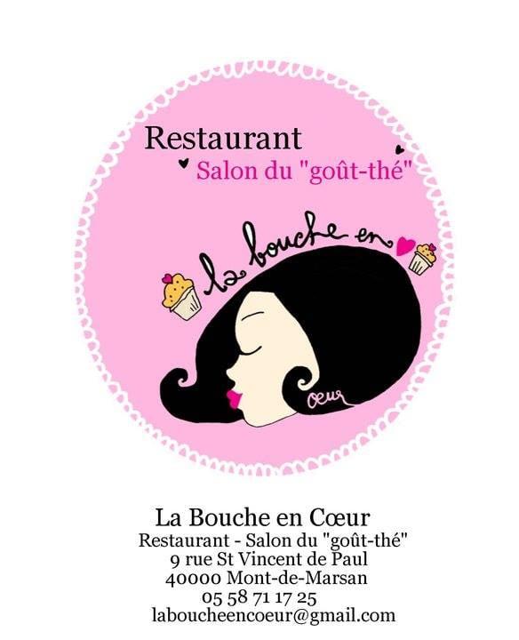 La Bouche en Coeur: 9 rue Saint-Vincent-de-Paul, Mont De Marsan, 40