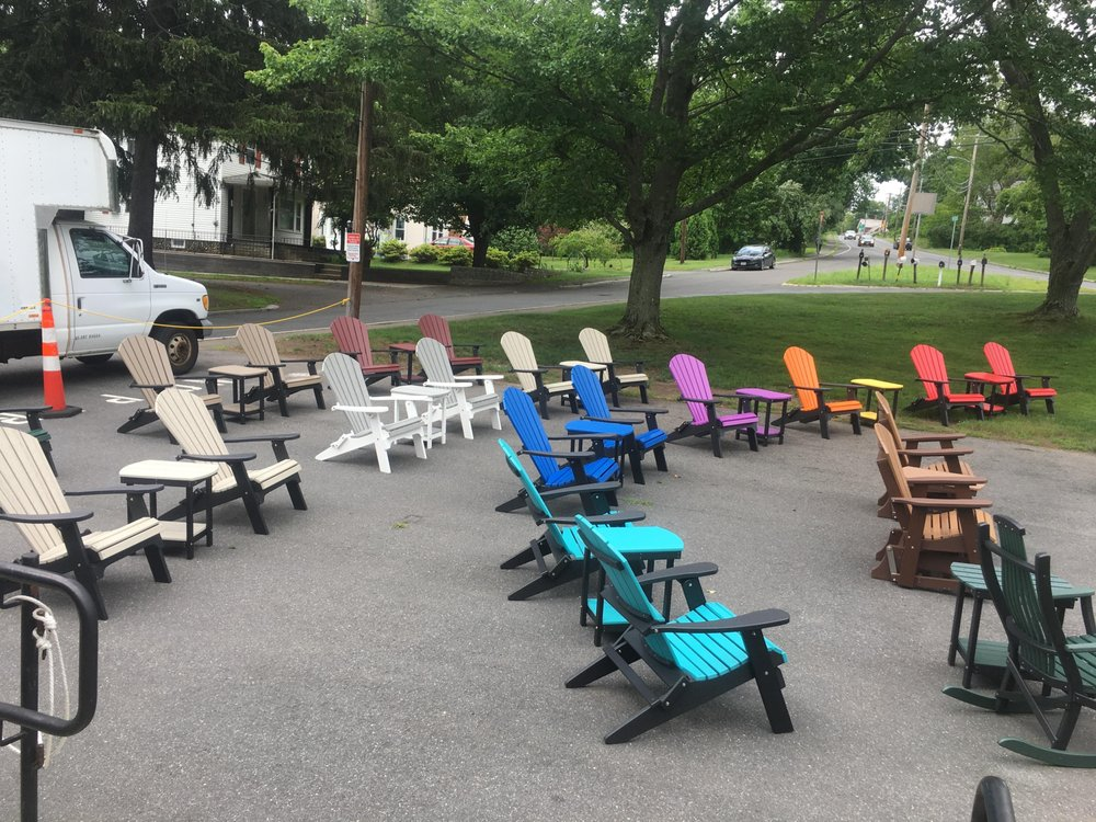 Offering american made polylumber outdoor furniture for Outdoor furniture specialists