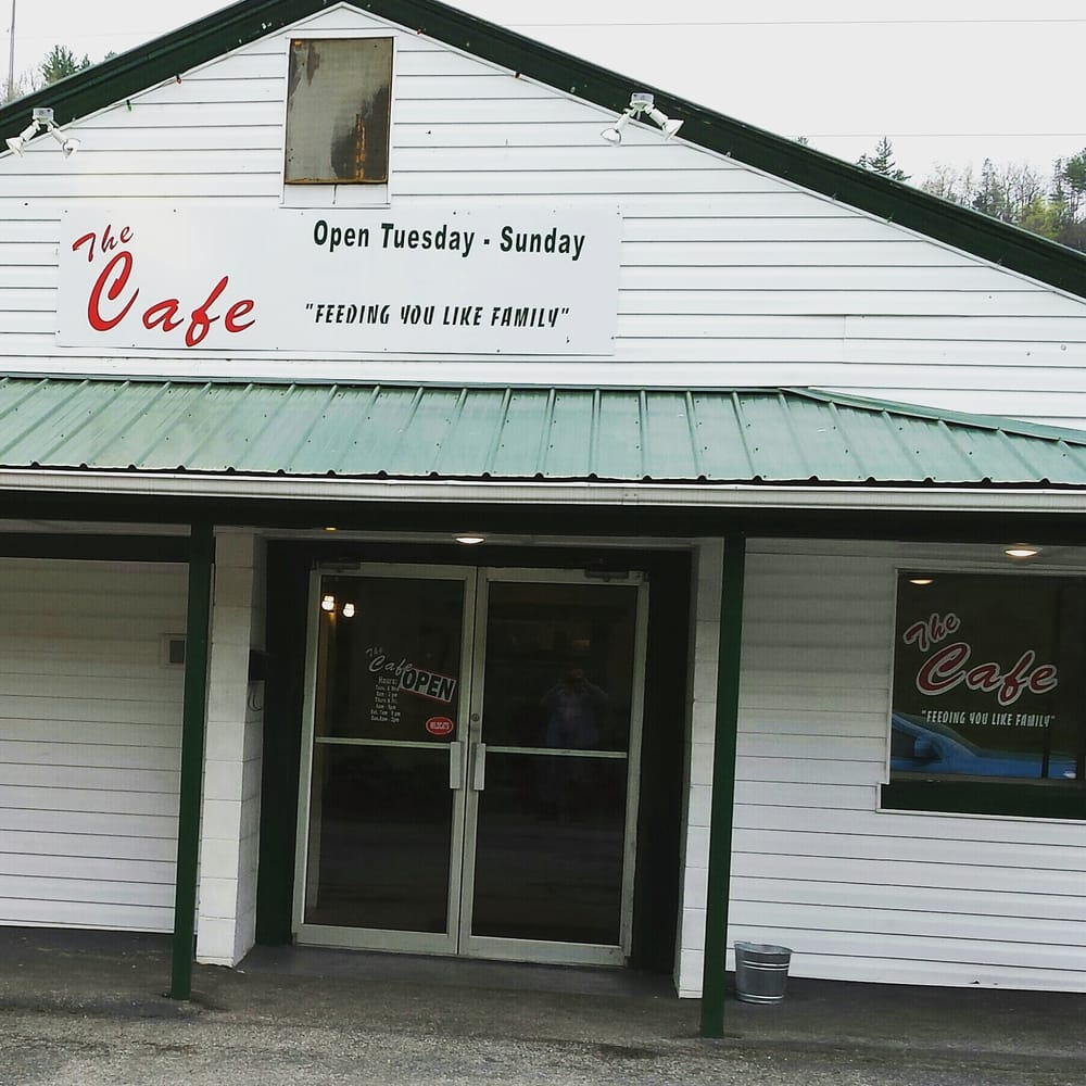 The Cafe: 335 Firehouse Dr, Fries, VA