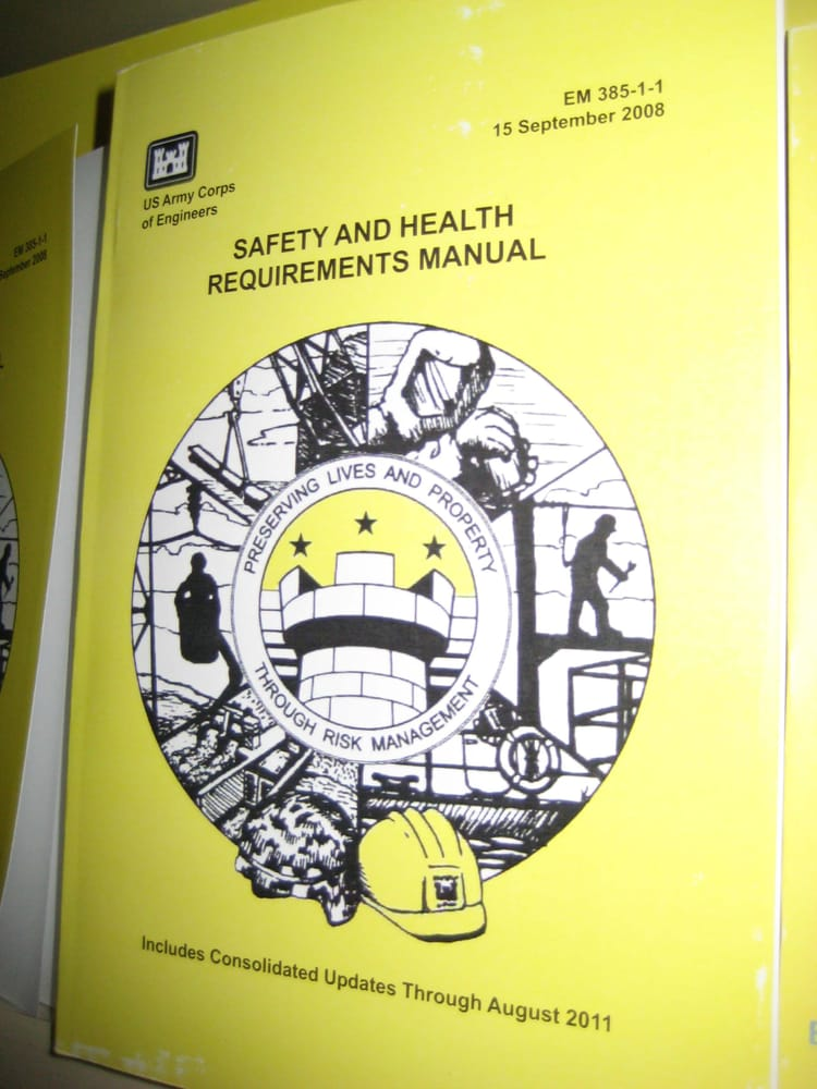 em 385 1 1 safety and health requirements manual us ace army corps rh yelp com army corps of engineers safety and health manual Army Corps of Engineers Uniform