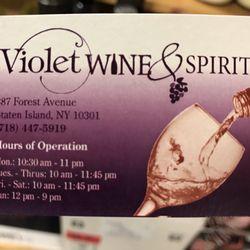 Violet wine spirit beer wine spirits 387 forest ave west photo of violet wine spirit staten island ny united states their colourmoves