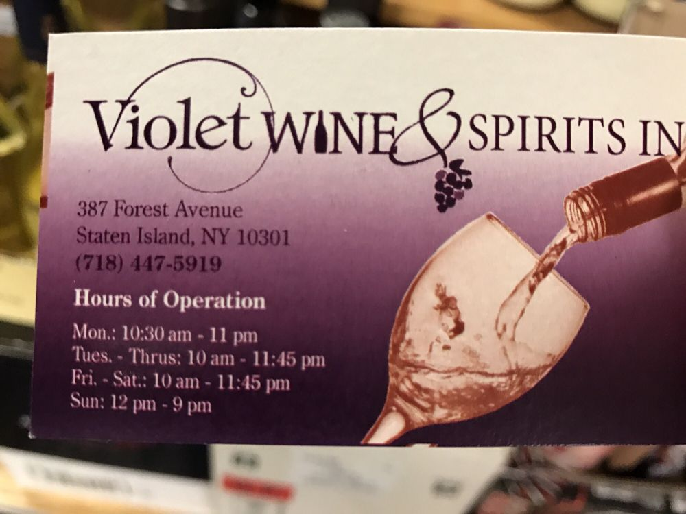 Their business card, don\'t get it confused with the liquor store ...