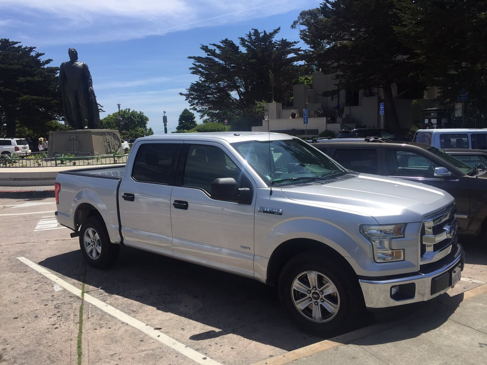 Car Rental In San Francisco >> Great rental truck!! 2017 Ford F-150 with Eco boost from Enterprise!! - Yelp