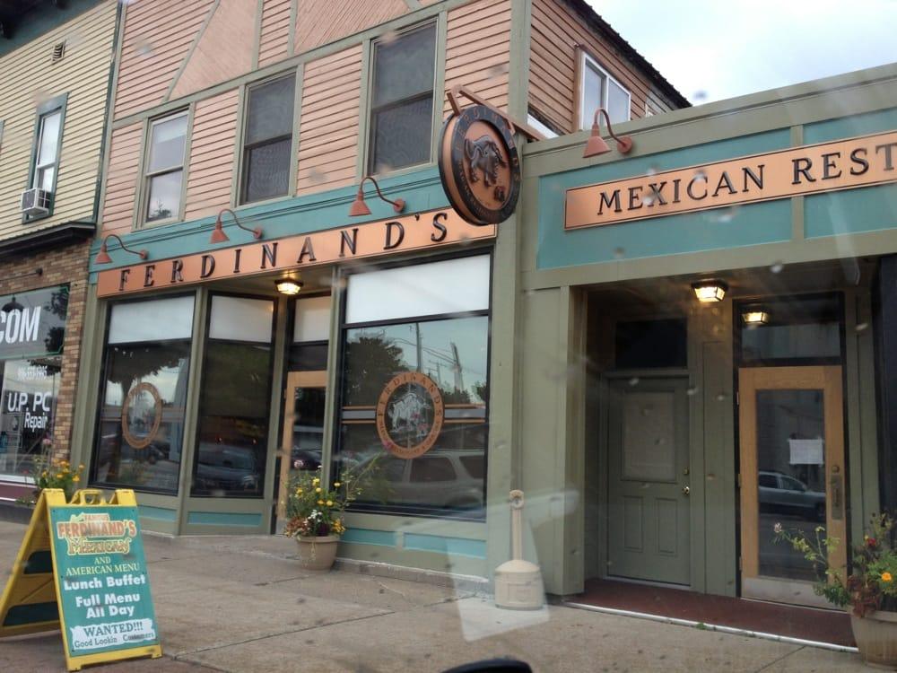 Ferdinand's Mexican American Restaurant: 1318 Ludington St, Escanaba, MI