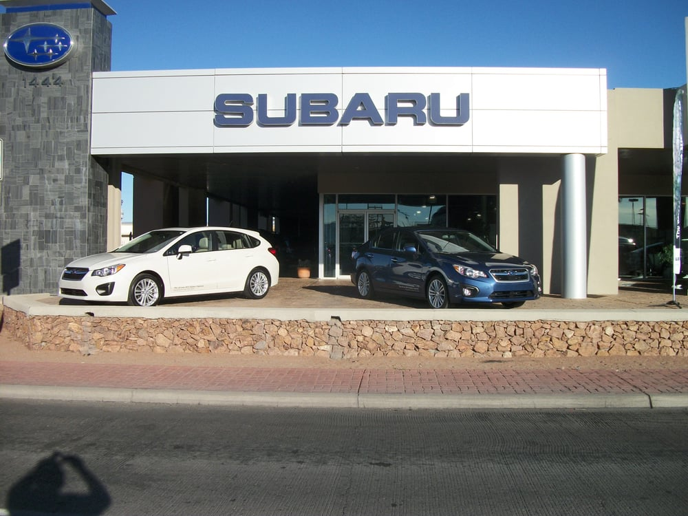 El Paso Car Dealerships >> Subaru El Paso New Used Car Dealership Near Me 79925