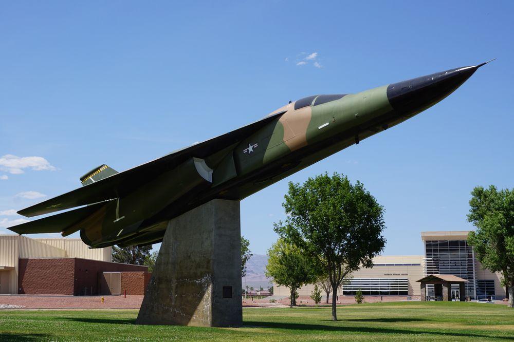 Nellis Air Force Base: 4430 Grissom Ave, Las Vegas, NV