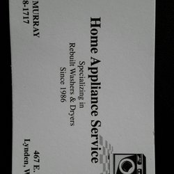 Photo Of Home Liance Service Lynden Wa United States Specializing In Washers