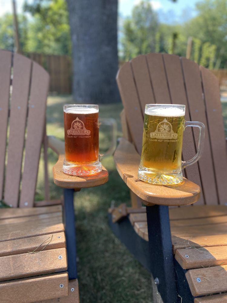 Latitude 42 Brewing Company- Portage: 7842 Portage Rd, Portage, MI