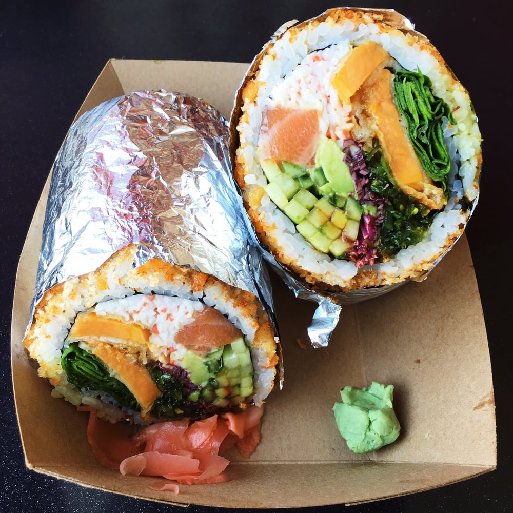Sushi burrito order food online 168 photos 160 for Asian 168 cuisine