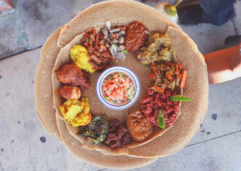 Rosalind's Ethiopian Restaurant: 1044 S Fairfax Ave, Los Angeles, CA