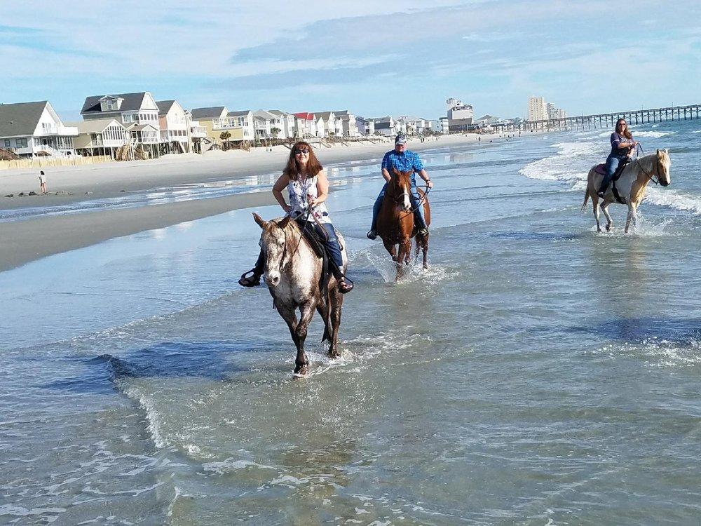 Social Spots from Horseback Riding of Myrtle Beach