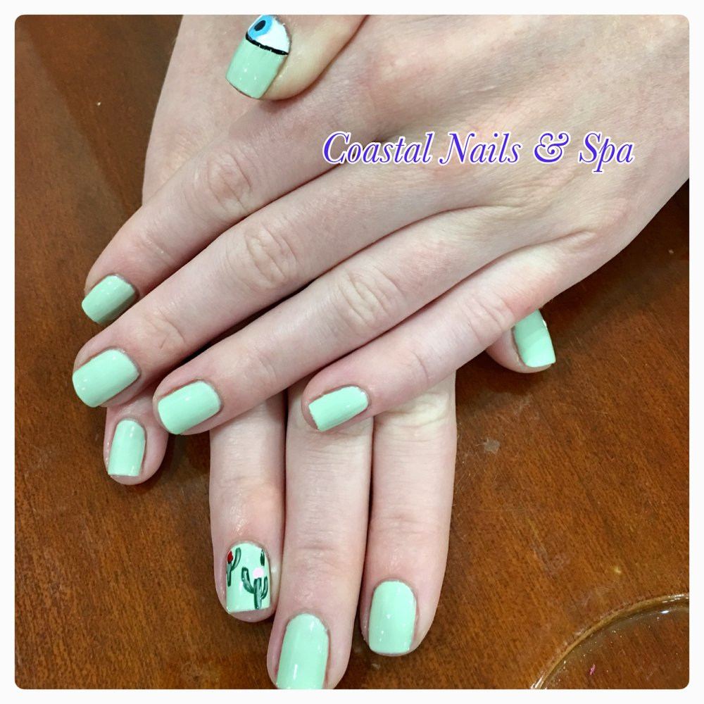 Gonna Love To Do Some Cute Nails Design Opi Mint Green Color