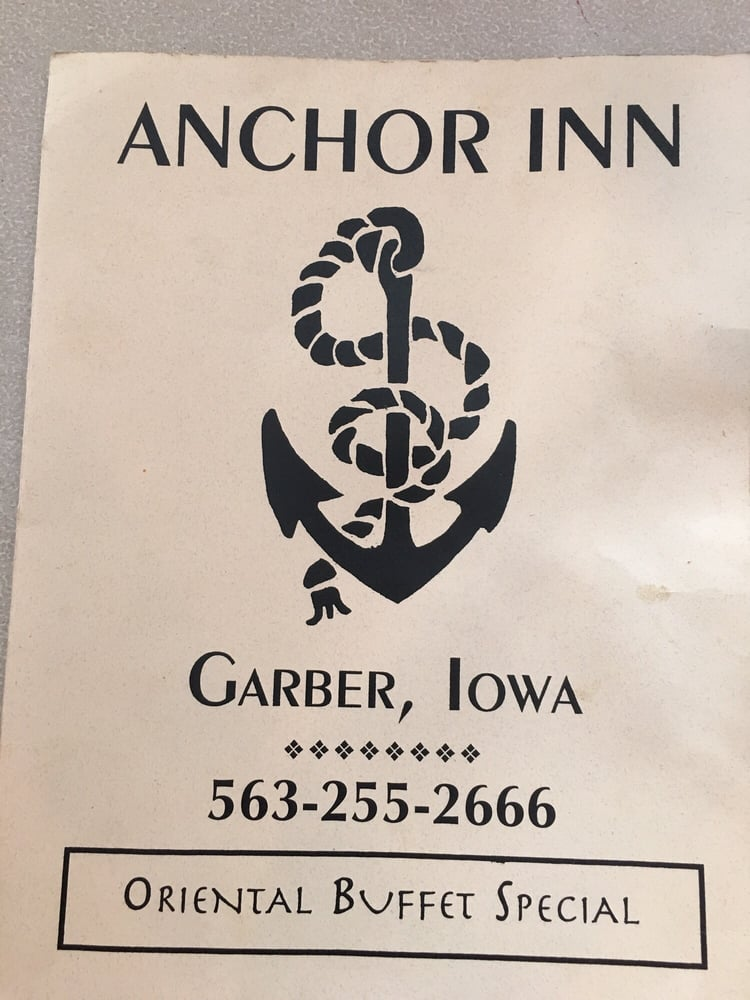 Anchor Inn Supper Club: 906 Front St, Garber, IA