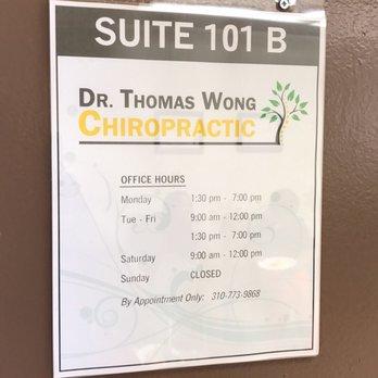 0dabef3e120 Thomas Wong Chiropractic - 51 Photos   38 Reviews - Chiropractors ...