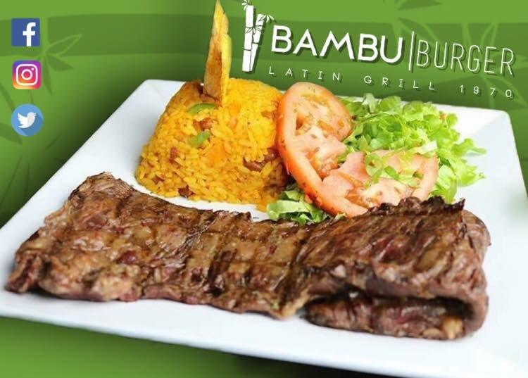 Bambu Burger: Calle Marginal S/N, Vega Baja, PR