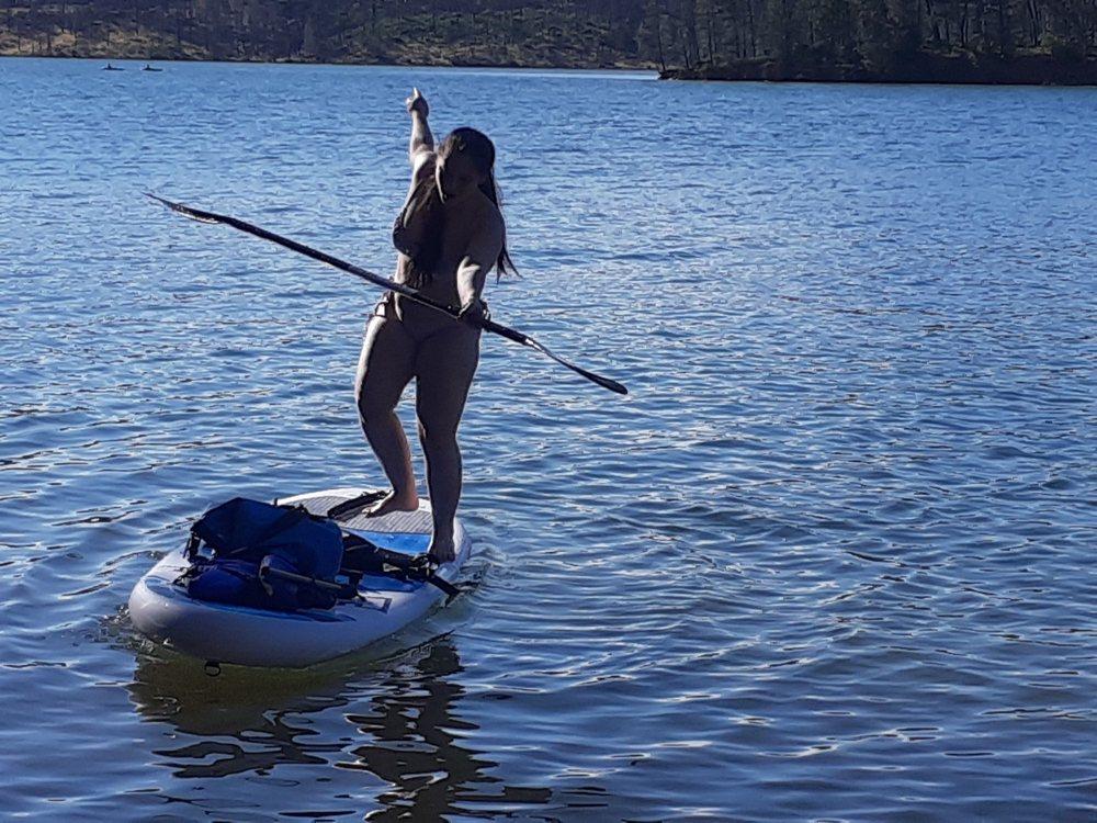 SUP Redding Board Rentals: Whiskey Town Lake, CA