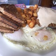 2 Eggs Over Photo Of Country Kitchen Newport Nh United States
